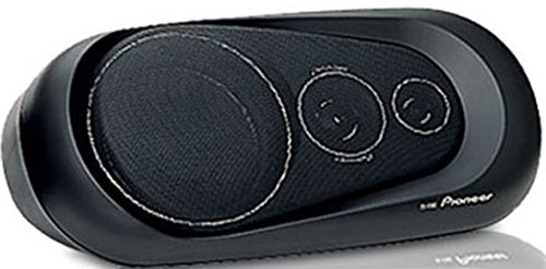 6. Surface Mount 3-Way Speakers