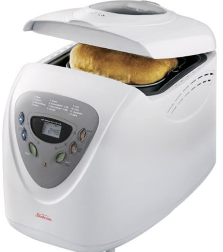 9.Sunbeam 5891 2-Pound Programmable Breadmaker