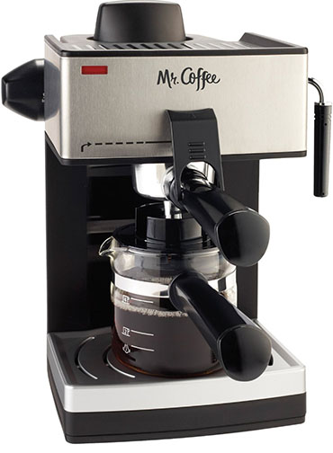 4. Mr. Coffee 4-Cup Espresso Machine