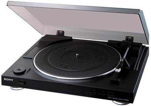 9. Sony PSLX300USB USB Stereo Turntable