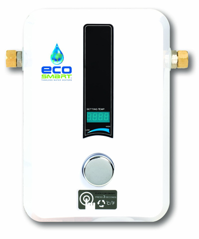6. Eco Smart ECO 11 Electric Tankless Water Heater, 13KW at 240 Volts with Patented Self Modulating Technology