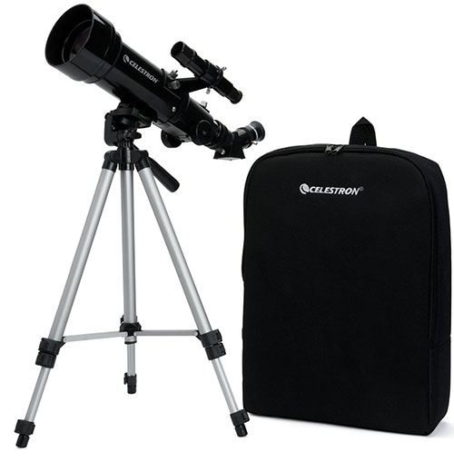 1. Celestron 70mm Travel Scope