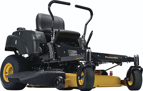 8. V-Twin Deck Zero Turn Mower