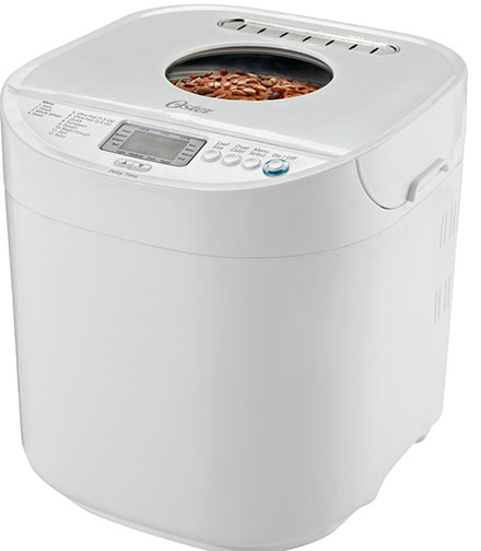 1. Oster 2-Pound Expressbake Bread Machine