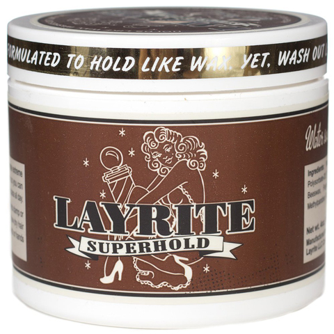 4. Layrite Super hold Pomade