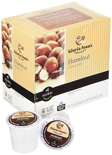 8. Hazelnut Coffee Keurig K-Cups