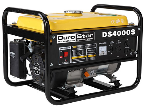 1. DuroStar DS4000S Gas Powered Portable Generator