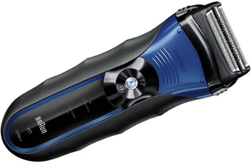 6. Braun 3Series Wet & Dry Shaver