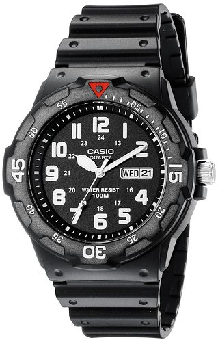 3. Casio Men's 200H-1BCT