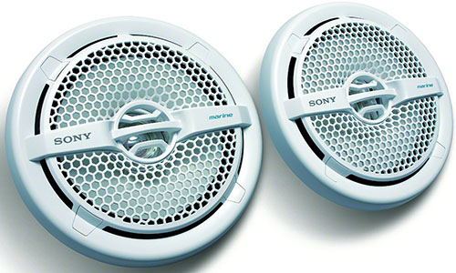 7. 6.5-Inch Dual Cone Marine Speakers