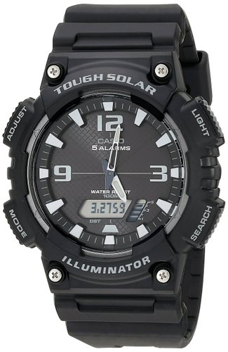10. Casio Men's Solar Sport Watch