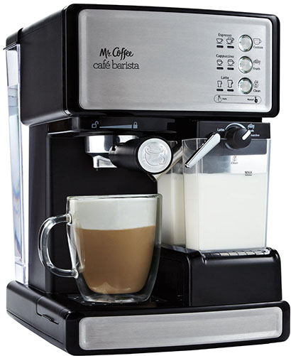 7. Coffee Cafe Barista with Automatic milk frother