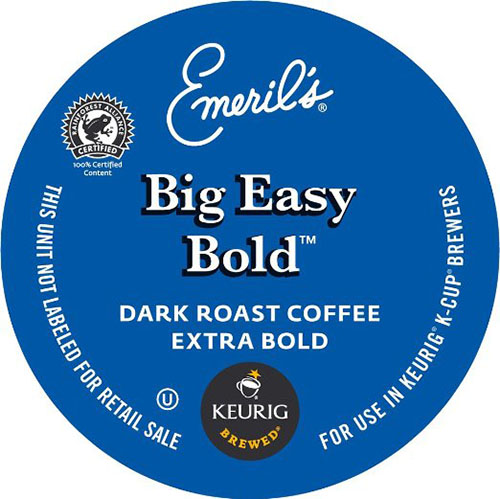 2. Big Easy Bold, K-Cup Counts