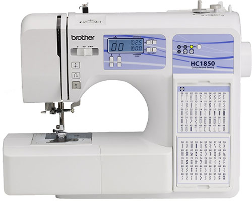 4. Brother Computerized Sewing