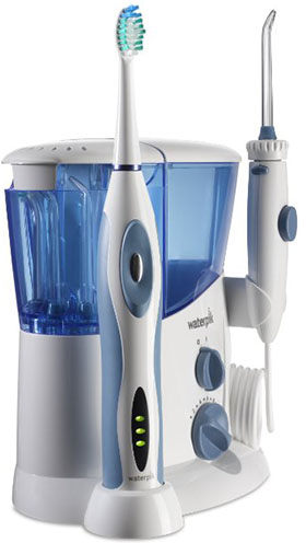 2. Waterpik Complete Care Water Flosser and Sonic Toothbrush, WP-900