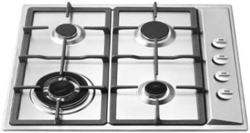 3. 4 Burner Natural Gas Cooktop