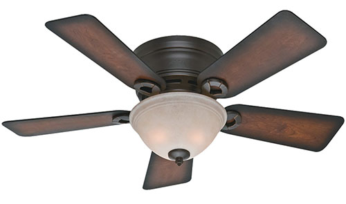 2. Hunter Fan Company Conroy Onyx Fan