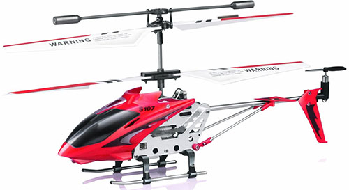 2. Syma R/C Helicopter with Gyro, Red