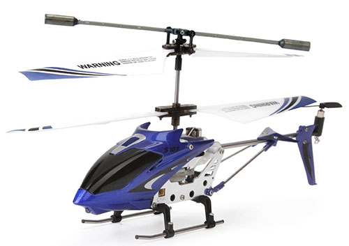 3. Syma Helicopter with Gyro, Blue