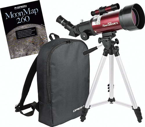 4. Orion GoScope II 70mm Telescope