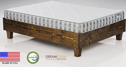 1. DreamFoam Ultimate 7-Inch TriZone Mattress