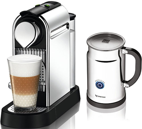 9. Nespresso Citiz Espresso Plus Milk Frother