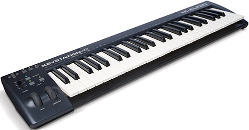 10. M-Audio Keystation 49 II 49-Key USB MIDI Keyboard Controller