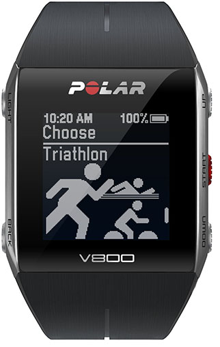 9. Polar V800 GPS Sports Watch