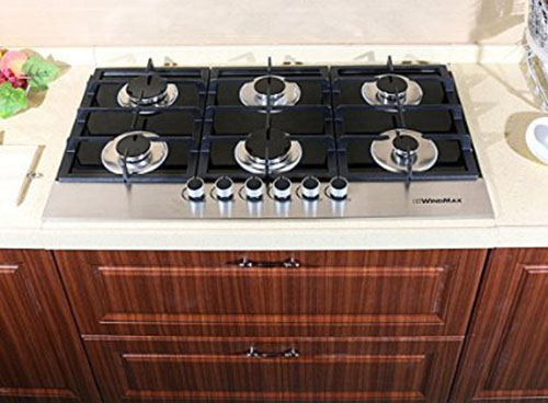 7. Tempered Glass Kitchen Gas Cooktop