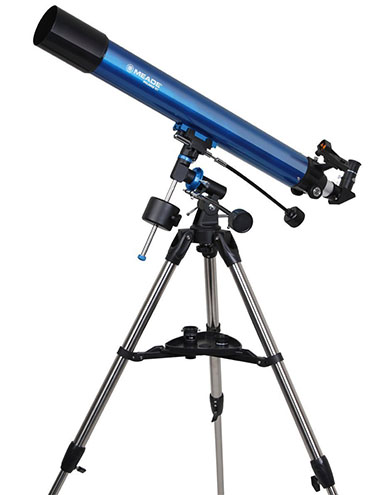 8. Celestron 114mm Equatorial Telescope