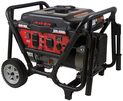 10. Gas Powered Portable Generator