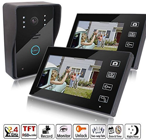 6. MicroMall Indoor monitor + Outdoor camera TFT Wireless
