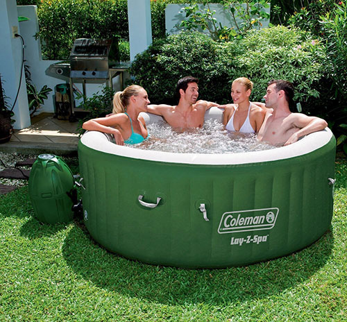 2. Lay-Z Spa Inflatable Hot Tub