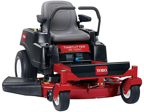 2. Toro V-Twin Zero-Turn Riding Mower