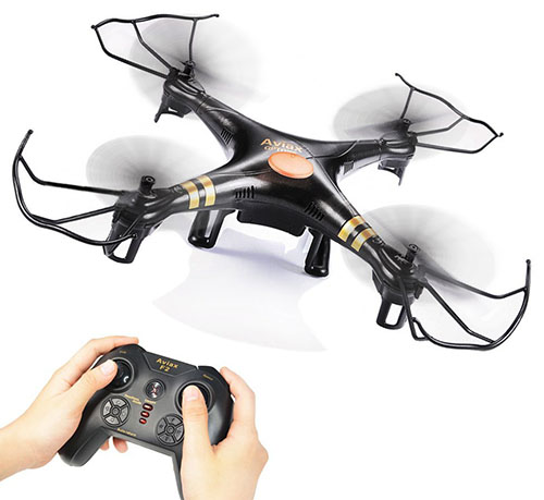 6. GPTOYS Black 6-Axis Quadcopter Drone
