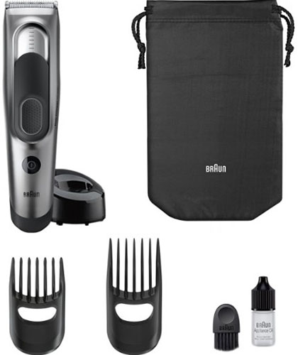 9. Braun Hair Clipper and Trimmer HC5090 for Men's