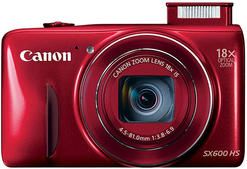 7. Canon PowerShot SX600 HS 16MP Compact Digital Camera