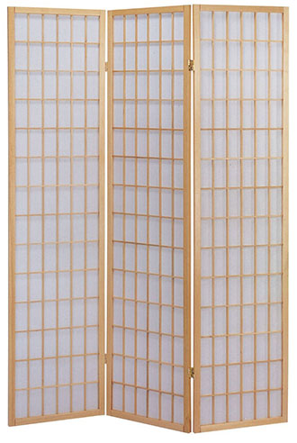 1. ACME Naomi 3-Panel Wooden Screen