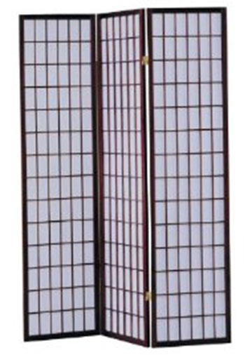 2. ACME Naomi 3-Panel Wooden Screen