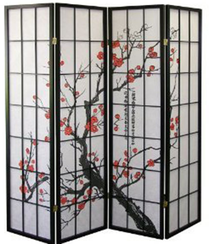 5. Legacy Decor Blossom Screen Divider