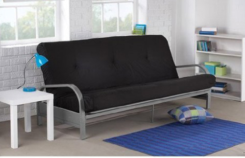 3. Mainstays Metal Arm Futon