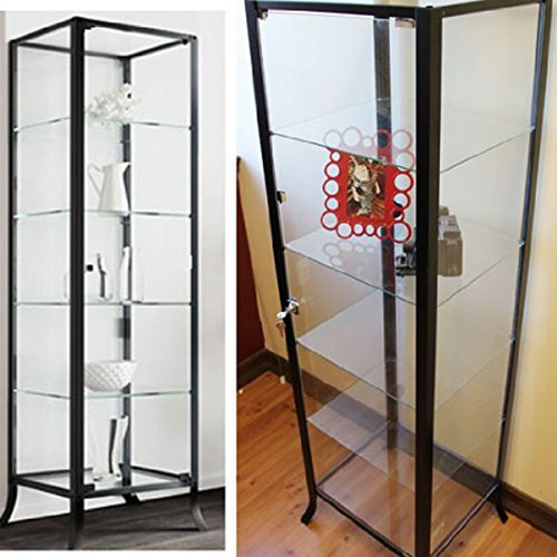 2. Curio Cabinet Display for Collectibles