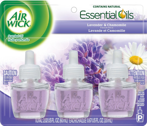 8. Air Wick Scented Oil Air Freshener