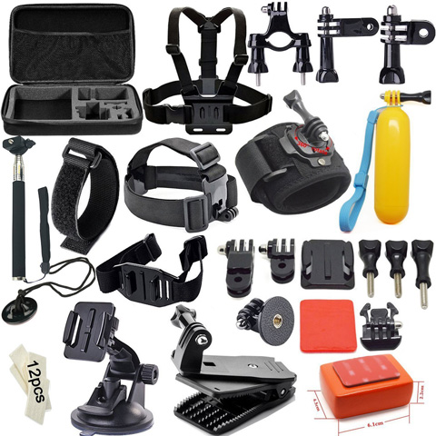 5. Soft Digits Accessories Kit for GoPro Hero4 Session Hero