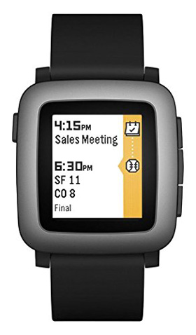 9. Pebble Time Smartwatch