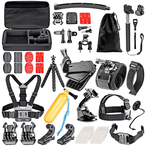 2. Neewer 50-In-1 Sports Accessory Kit for GoPro Hero4 Session Hero