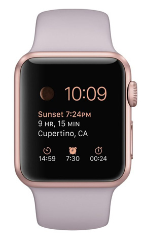 7. Apple 1.49-Inch Sport Smart Watch