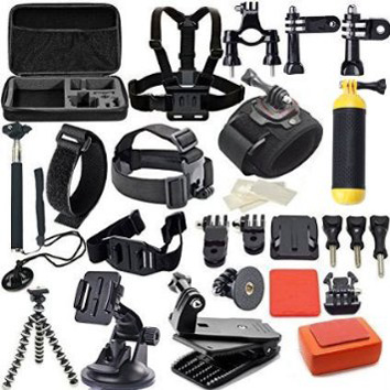 10. MCOCEAN 42-in-1 Go Pro 4 Accessories Kit for Sports Camera