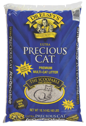 10. Precious Cat Ultra Premium Clumping Cat Litter