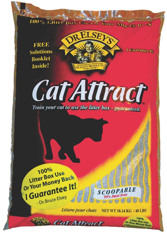 2. Dr. Elsey's Cat Attract Cat Litter